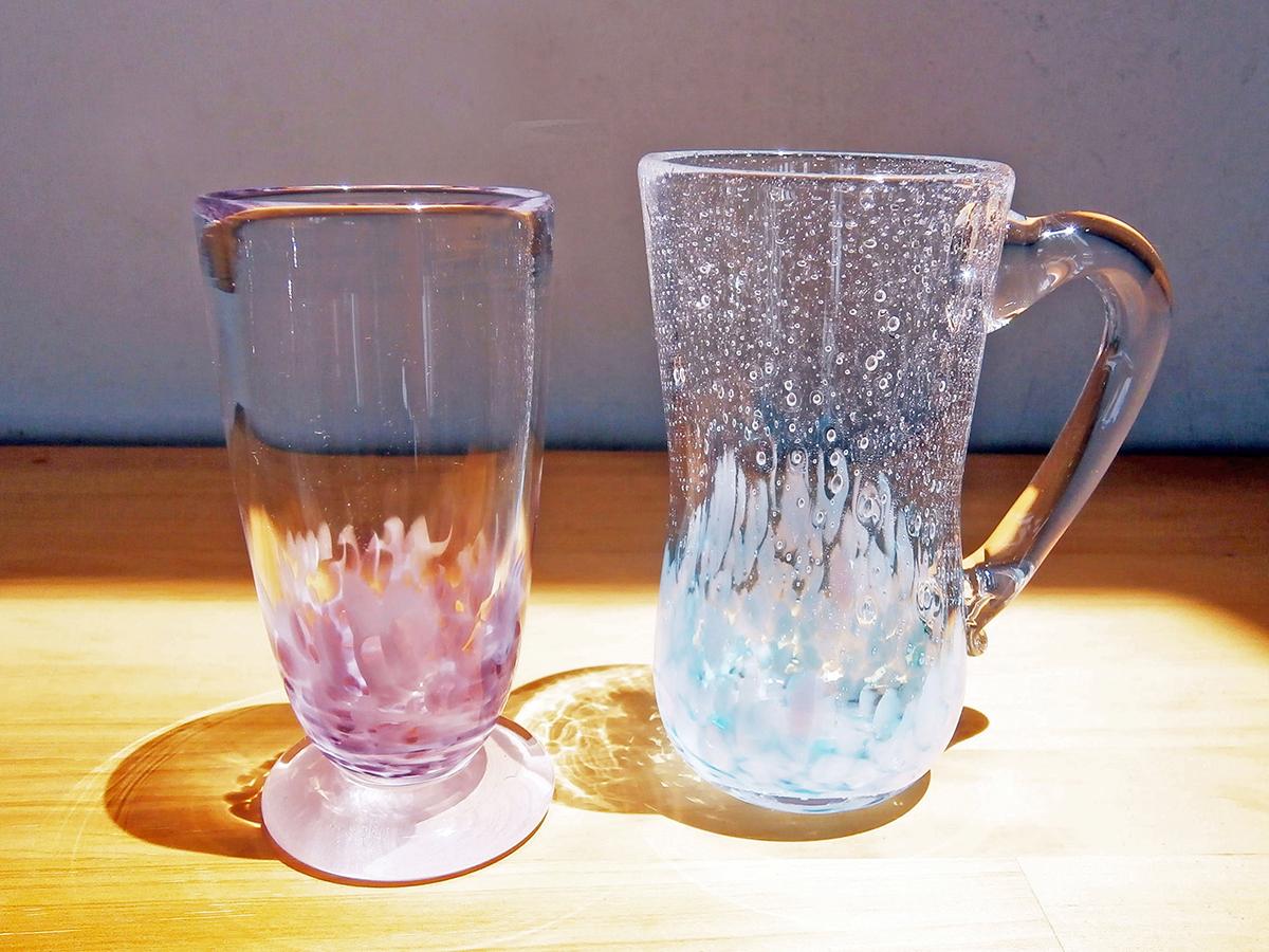 吹きガラス体験Bコース