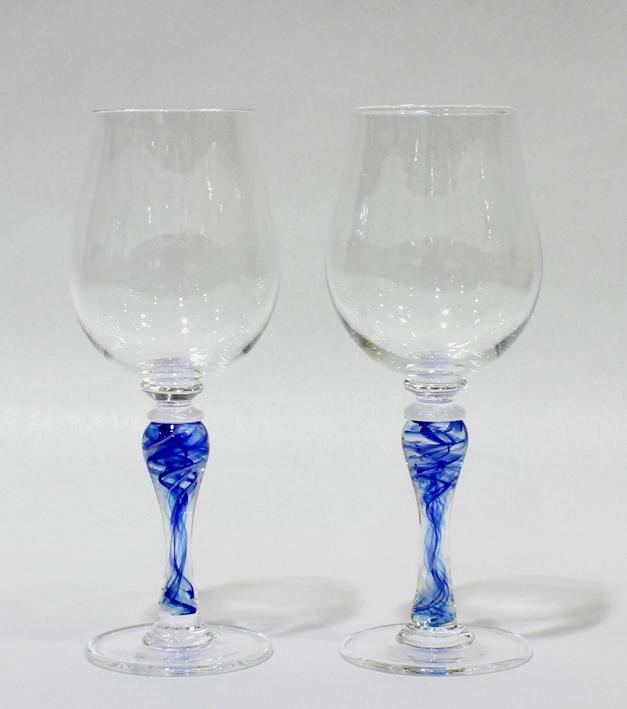 ワイングラス「水流」